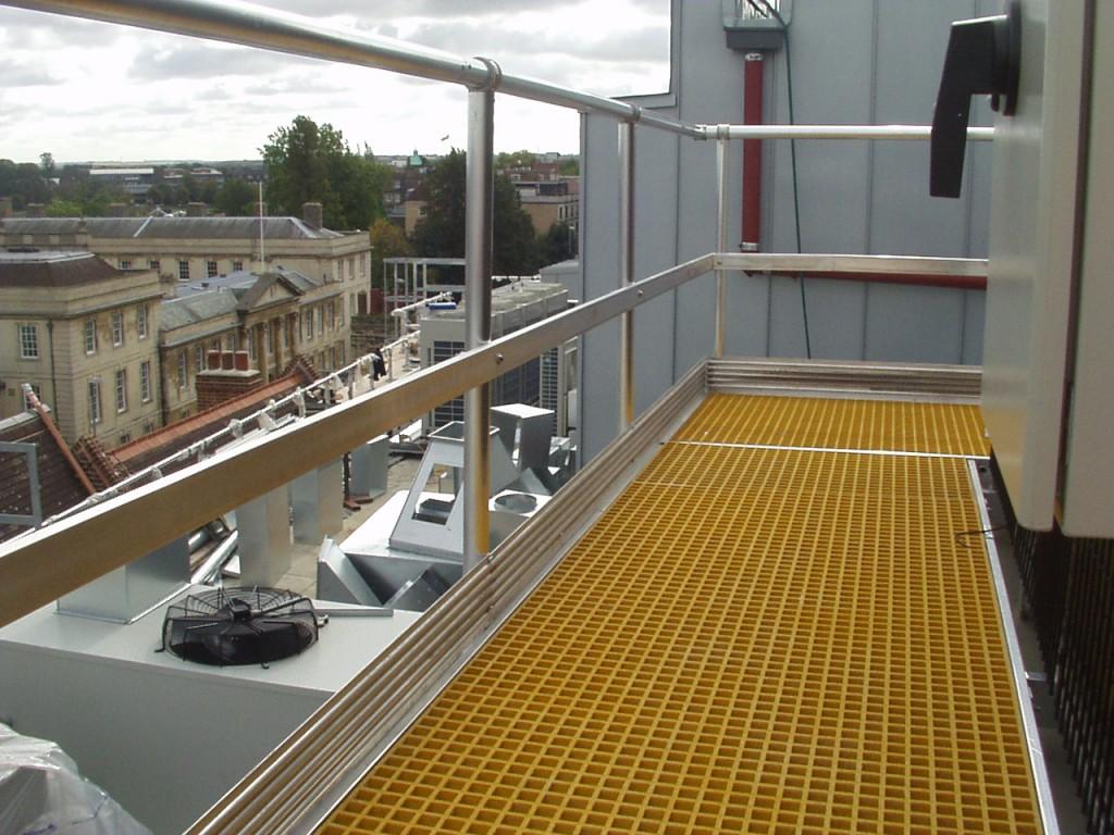 Rooftop Guardrails